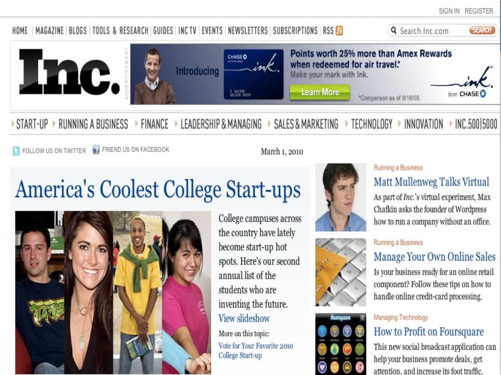 """Inc. magazine goes """"office-less"""""""