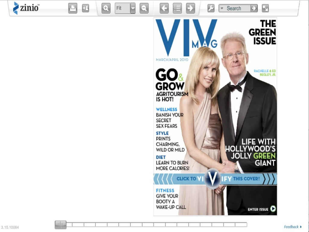 Viv is the first magazine created exclusively as a digital magazine.