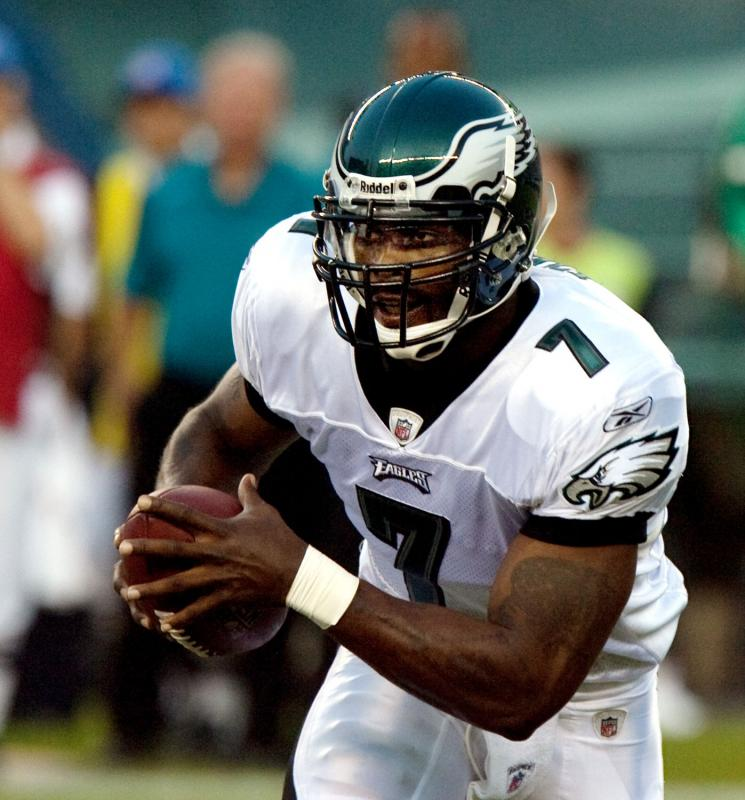 Michael Vick is redefining himself and the concept of athlete as role model.
