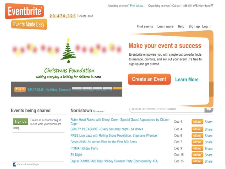 Eventbrite is a terrific web-based tool for e-marketing your event.