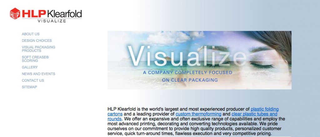 HLP Klearfold is the global leader in visual packaging.
