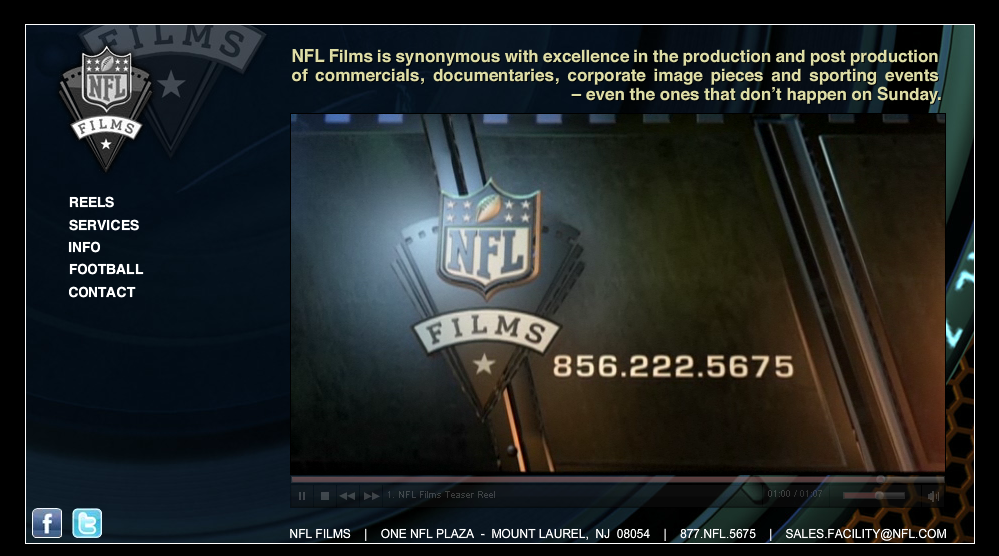 NFL Films is one of the area's premier brands.