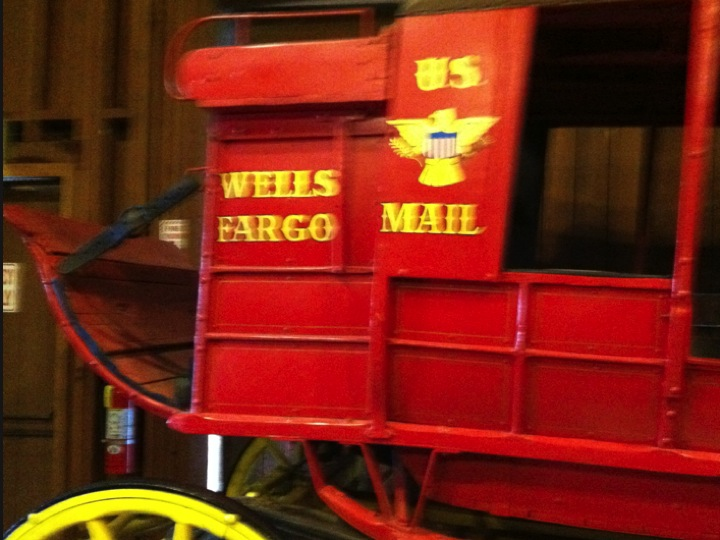 Wells Fargo once delivered other than financial solutions.