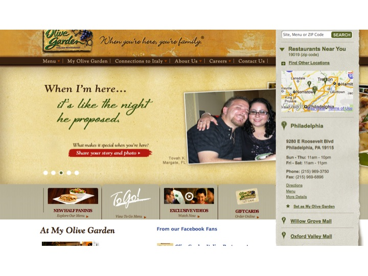 Olive Garden has a social media firestorm on its hands.