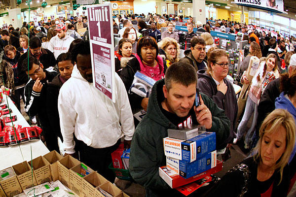 Black Friday shopping gets bleaker with each passing year.