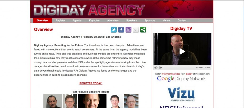 The Digiday Agency conference was a wealth of information on the ever-expanding digital ad world.