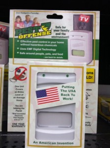 PEST OFFENSE pushes a lot of buttons with its package, but especially the one marked patriotism.