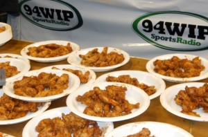 WIP radio hosted Wing Bowl XX with an incredible sellout of the Wells Fargo Center by over 20,000 well-lubricated fans