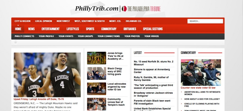 The Philadelphia Tribune is America's longest-running African-American newspaper published continuously since 1884.