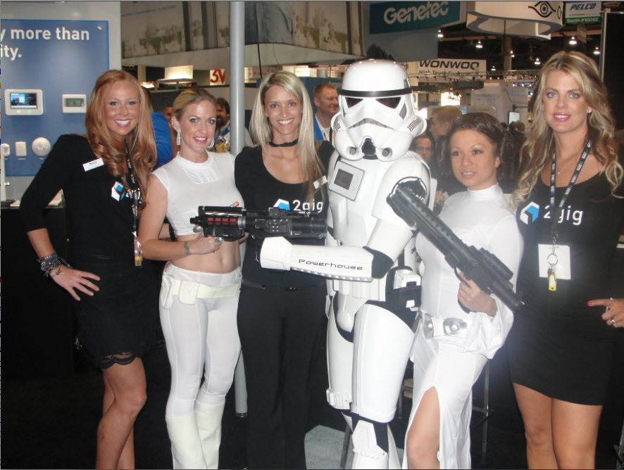 "Powerhouse decided that ""the force is with 2GIG"" and used a Star Wars theme to promote the Go!Control Panel."