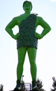 Ho, ho, ho. . .Green Giant!