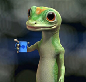 GEICO's Gecko is arguably the perfect mascot.