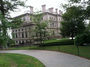 The Breakers, the Vanderbilt mansion in Newport, RI, is a glimpse back to the Gilded Age.