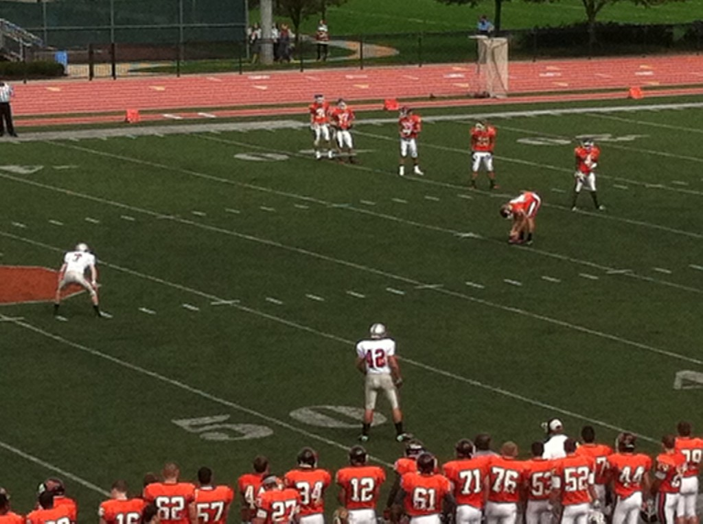 Susquehanna University beat cross-state rival Muhlenberg 17-0.
