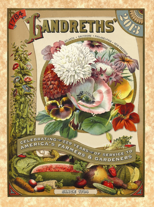 Charlotte's family founded the D. Landreth Seed Company, the oldest seedhouse in America.