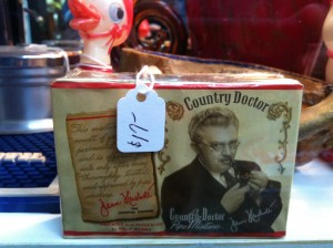 Country Doctor brand cigarettes. To your health!