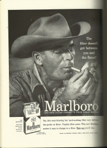 "Long before the ""most interesting man in the world"" there was the Marlboro Man."