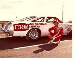 Richard Childress as a driver sponsored by CRC Chemicals
