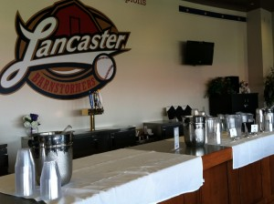 Security Partners hosted their dealers conference in one of the Lancaster Barnstormers hospitality suites.