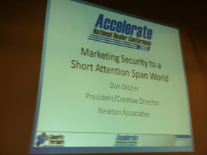 Marketing Security to a Short Attention Span World
