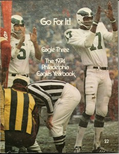 Philadelphia Eagles 1974 Yearbook